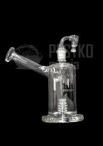 "Bongo ""flower bubbler with honey wand insert"""