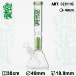 Bongo szklane Amsterdam z perkolatorem h30cm/fi40mm/szlif 18.8mm/szkło 4mm