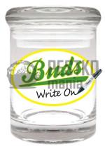 Słoik BUDS do wielokrotnego opisywania (Buds Re-Writable Stash Jar)
