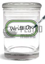 Słoik do wielokrotnego wpisywania nazwy odmiany  (Strain Writable Stash Jar 1/4 Ounce)