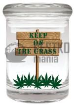 Słoik KEEP ON THE GRASS (Keep on the Grass Stash Jar)