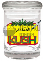 Słoik KUSH do wielokrotnego opisywania (Kush Re-Writable Stash Jar)