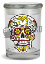 "Słoik ""Skull"" (""Skull"" stash jar for 1/2 Ounce)"