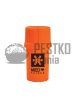 SOLID ORANGE/BLACK MED LOGO - plastikowy pojemnik
