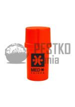 SOLID RED/BLACK MED LOGO - plastikowy pojemnik